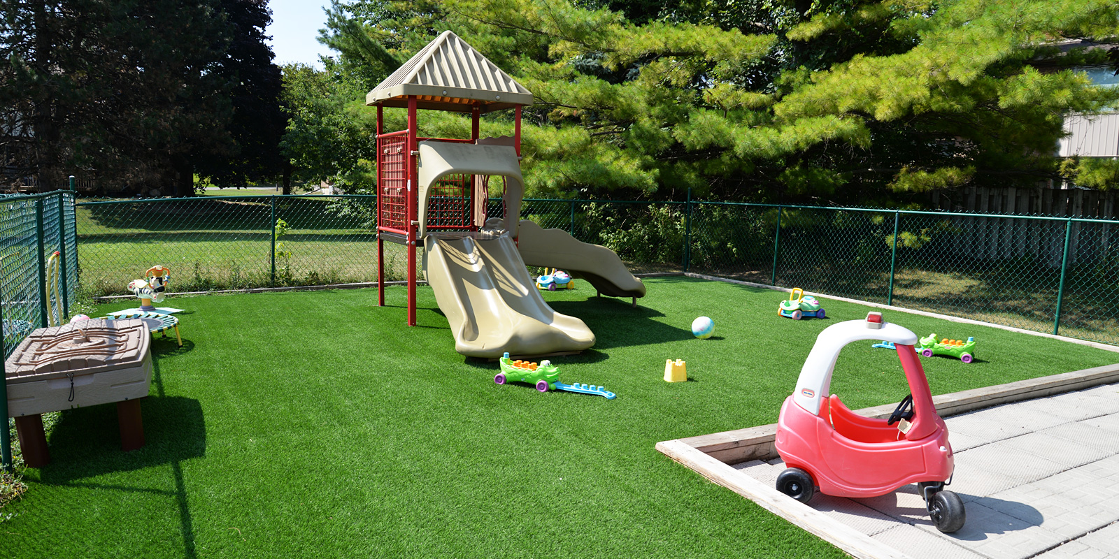 A Great Outdoor Playspace!